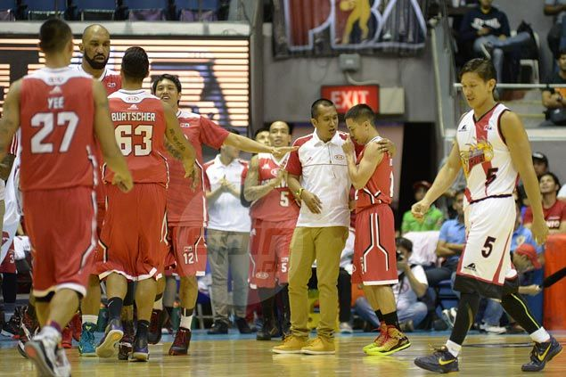 Rag-tag KIA gives champion San Miguel Beer a giant hangover with biggest upset of PBA season