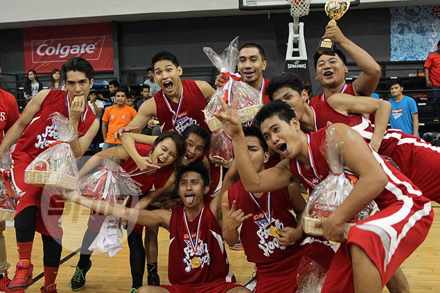 LA Tenorio's team paints the town red at end of Colgate Fresh Hoops Streetball final