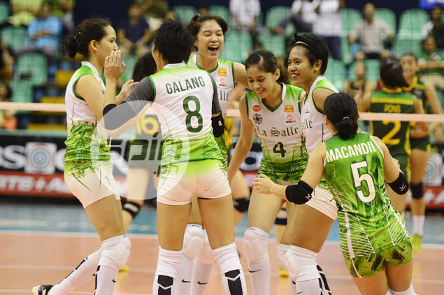 Full-strength La Salle Lady Spikers pose first acid test for vastly improved UP side