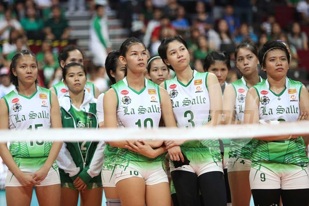 La Salle Lady Spikers tight-lipped but 'upbeat' after Game Two meltdown
