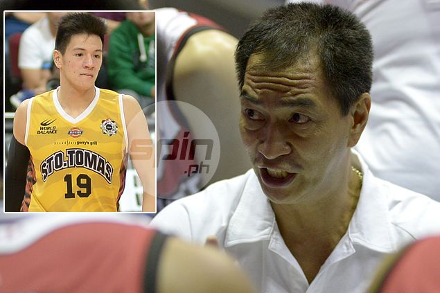 Glen Capacio accused of attacking UST player, ref during tune-up; Fellow Letran coach issues denial