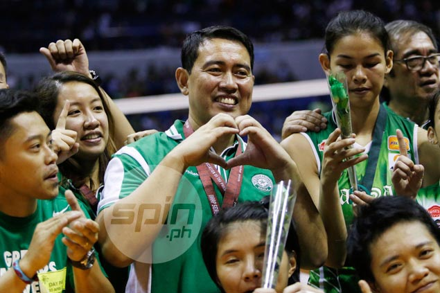 Ramil De Jesus has won nine UAAP titles, but he has no doubts on which one is sweetest