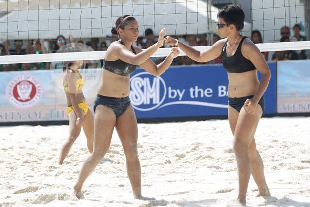UST, La Salle quick to bounce back, dispatch separate foes in UAAP beach volleyball