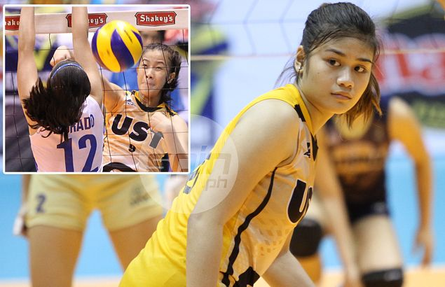 Rising star EJ Laure counted upon to lead UST resurgence in UAAP women's volleyball