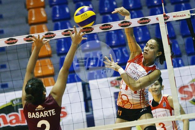 PLDT Ultra Fast Hitters breeze through UP Lady Maroons to reach V-League finals