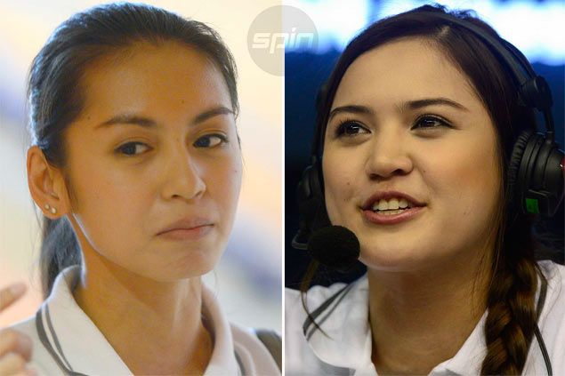 Denden Lazaro, Michelle Gumabao get into the flow in new role as TV analysts