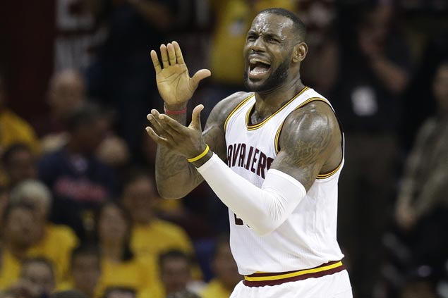 LeBron James intends to play until late 30s but decision is up to his kids