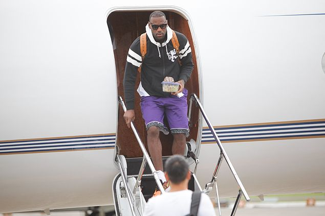 NBA star LeBron James back in Manila for four-day visit for Nike Rise challenge