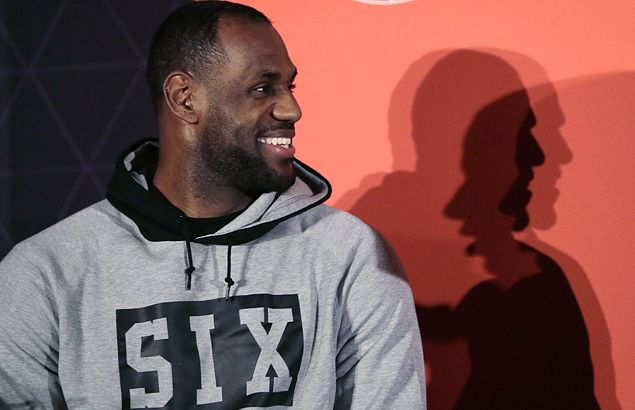 With huge social media presence, LeBron James prefers to be real in connecting with his fans
