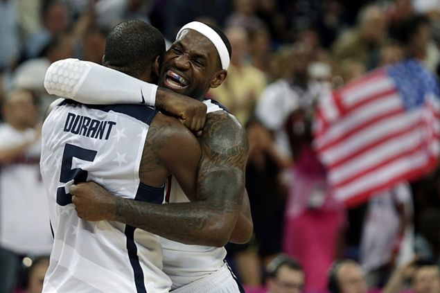 Team USA exec believes LeBron James 'intent' on shot at hat-trick of Olympic gold medals