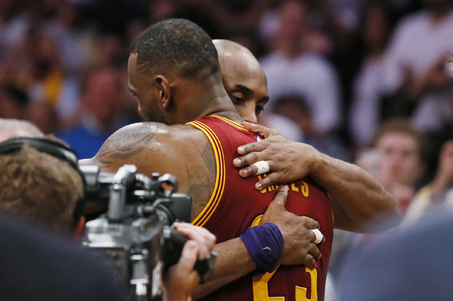 LeBron James: 'I wish I could play against him every single night; Kobe Bryant: 'That was fun'
