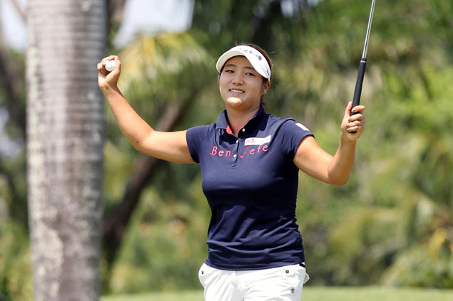 Korean Lee finishes with a flourish to deny Mia Piccio in Champions Tour at Southwoods