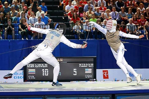 Half-Pinay fencer Lee Kiefer right on course for medal shot at Rio Olympic Games