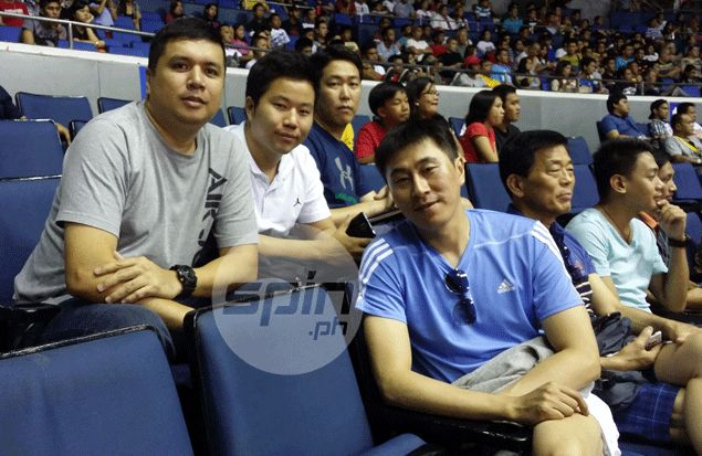 Remember Lee Sang Min? Korean great who broke Pinoys' hearts in 2002 Asiad watches PBA game largely unnoticed