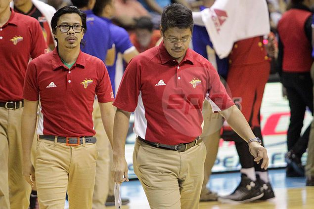 Leo Austria owns up lack of preparation more than championship hangover the cause of San Miguel downfall
