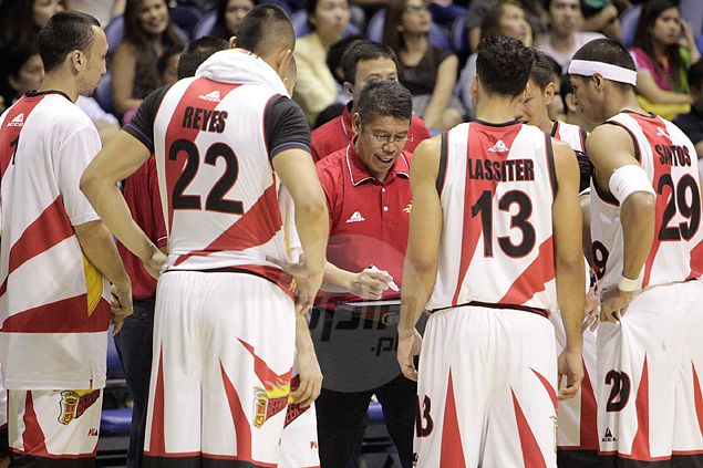 Arwind Santos says team dinner makes world of difference for embattled San Miguel Beer team