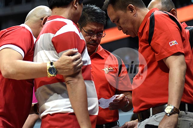 Struggling or not, Rain or Shine always a dangerous team, warns SMB coach Leo Austria