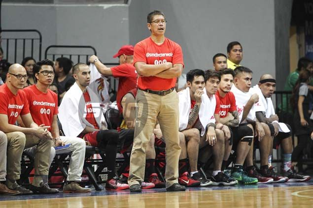 Austria laments San Miguel settled for too many jump shots, 'forgot' about Fajardo