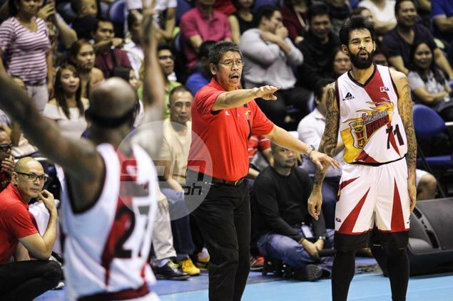 SMB coach Leo Austria bracing for worst, admits June Mar Fajardo likely out of PBA Finals