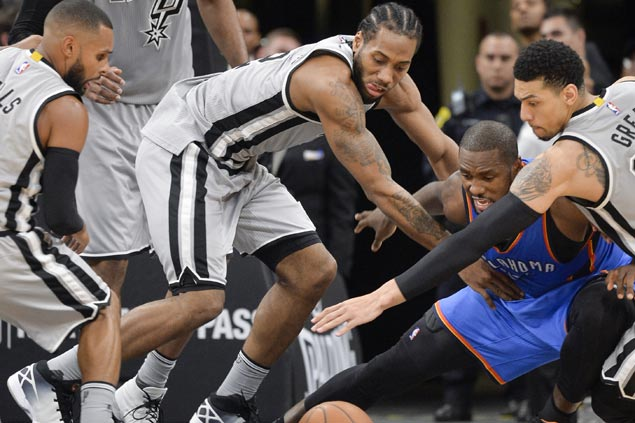 Kawhi Leonard, 3 others to miss Spurs' shot at matching best home start to open a season