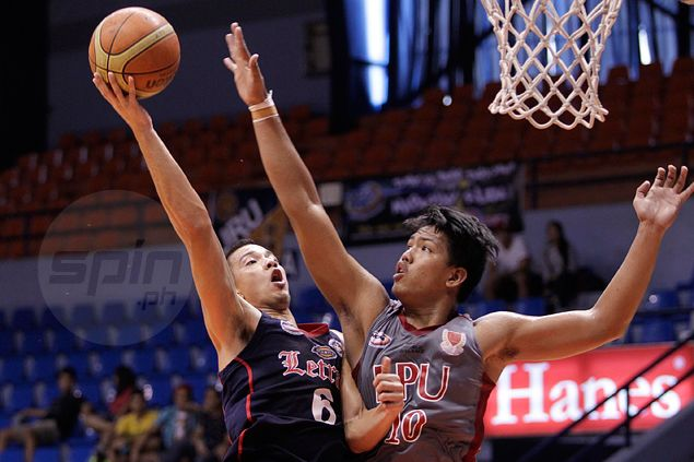 Without banned coach, also-ran Letran Knights still too good for Lyceum Pirates
