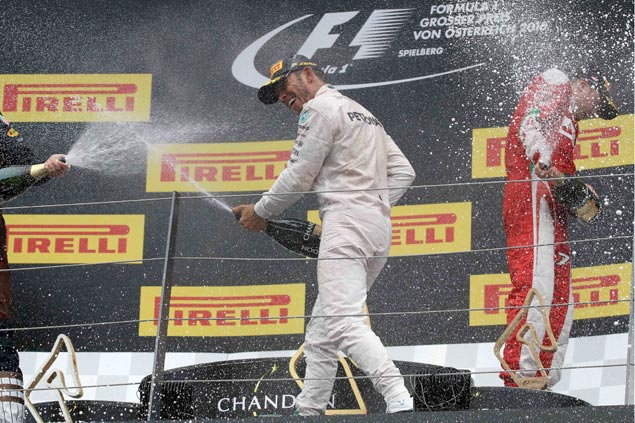 Nico Rosberg undaunted despite one-point lead over Lewis Hamilton ahead of Hungary GP
