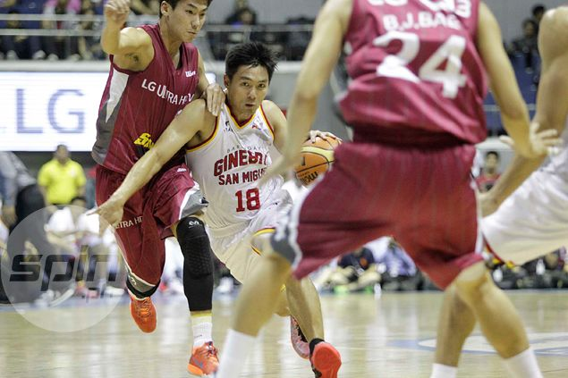 Coach Jeff Cariaso builds case for defense after Ginebra's loss to Korean side LG Sakers