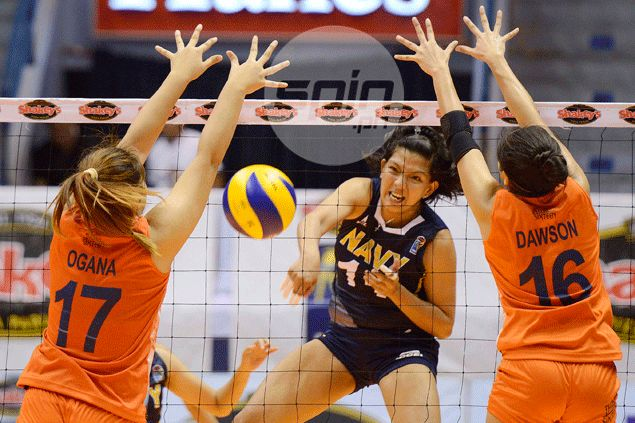 Lady Sailors bounce back in contention in V-League Reinforced Conference after turning back Dolphins