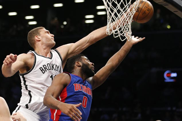 Pistons prove steadier in fourth quarter shootout as Detroit hand Brooklyn fourth straight loss