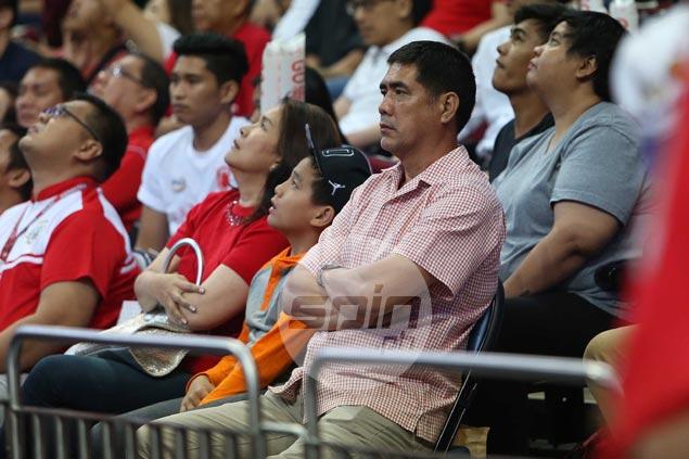 Louie Alas preaches patience as son Kenneth makes quiet San Beda debut against former team Letran