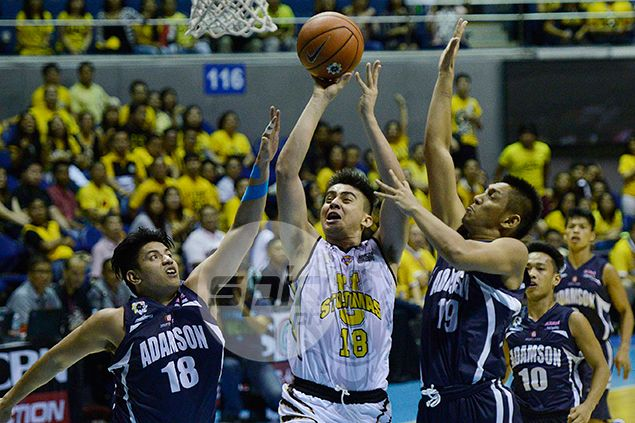 UST forward Louie Vigil left out of lineup after sudden UAAP decision to lower age limit