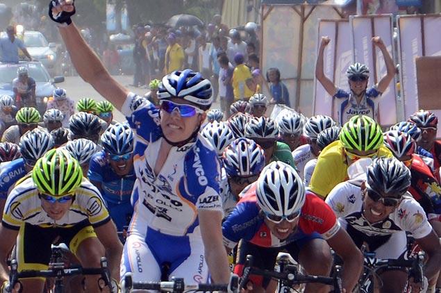Australian track star rules roads to Isabela