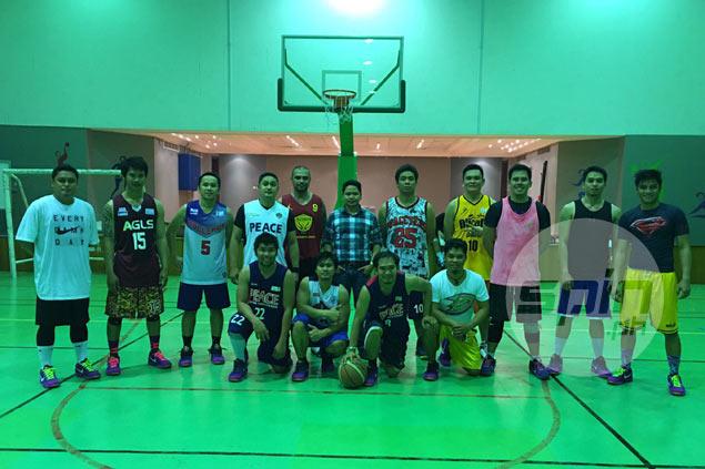 M. Builders team in aggressive push to raise profile of Philippine basketball in Qatar