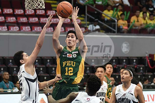 Rampant FEU Tamaraws make it nine wins in a row, down Adamson Falcons
