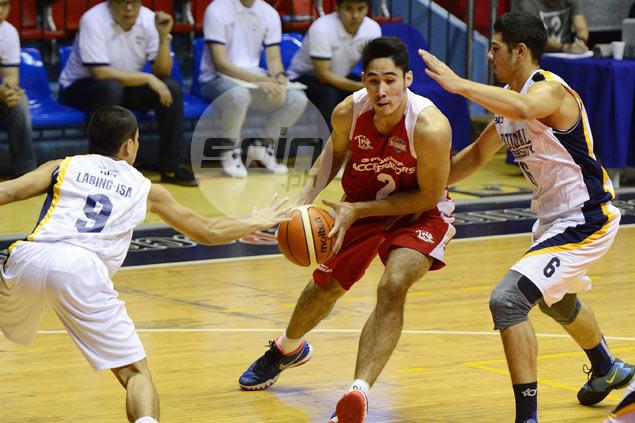 Mac Belo leads late surge as Phoenix-FEU gets by BDO-NU to get back on track in Aspirants Cup