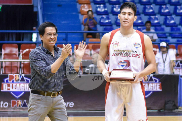 Phoenix star Mac Belo named MVP of PBA D-League Aspirants Cup