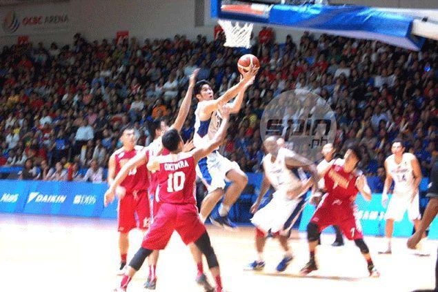 'Big Mac' Belo steps up as Gilas cadets nip Indonesia to retain SEA Games basketball gold
