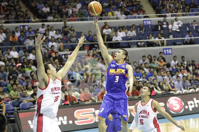 Underdog NLEX deals Ginebra first loss of PBA season behind a mean finishing kick