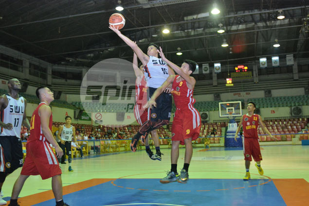 SWU guard Mark Jayven Tallo looking to take act from Cesafi to PBA D-League