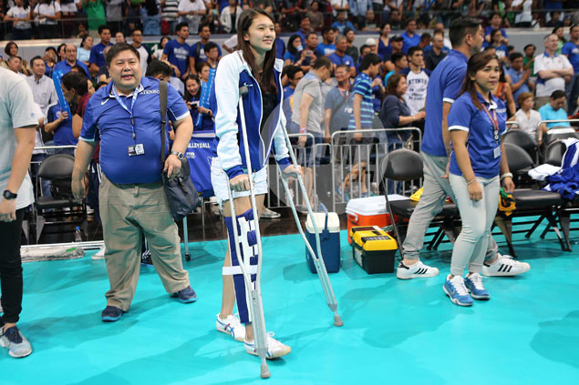Maddie Madayag confident she can come back stronger from season-ending knee injury