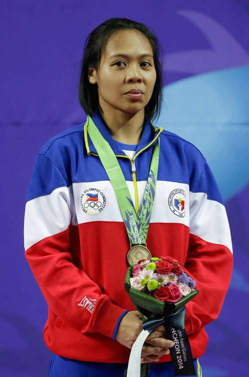 Mae Soriano salvages Asian Games bronze medal for Philippines in karatedo