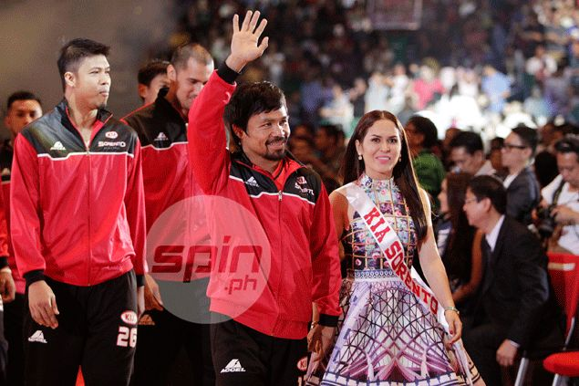 James Yap happy to see Manny Pacquiao fulfill his childhood dream of playing in PBA