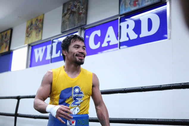 Back where it all began, Manny Pacquiao turns sentimental as retirement beckons
