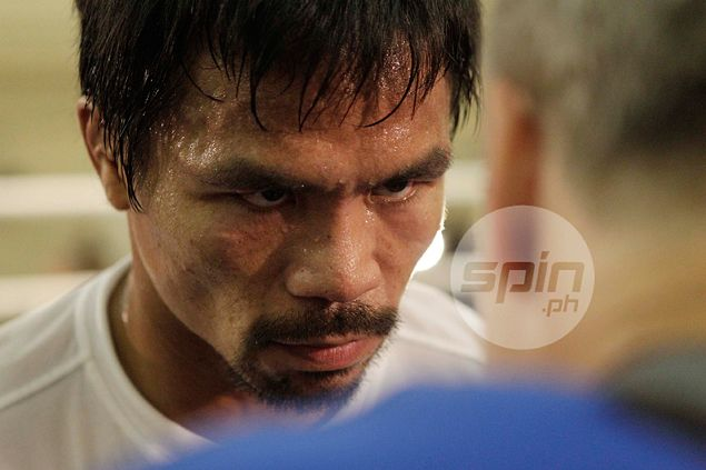 Fire back in Manny Pacquiao's eyes, says he's 100 percent ready for 'overweight' Chris Algieri