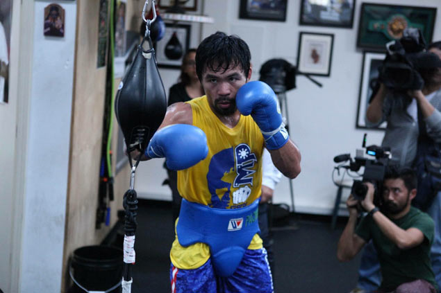 Manny Pacquiao says shoulder surgery, long layoff 'made me hungry again'