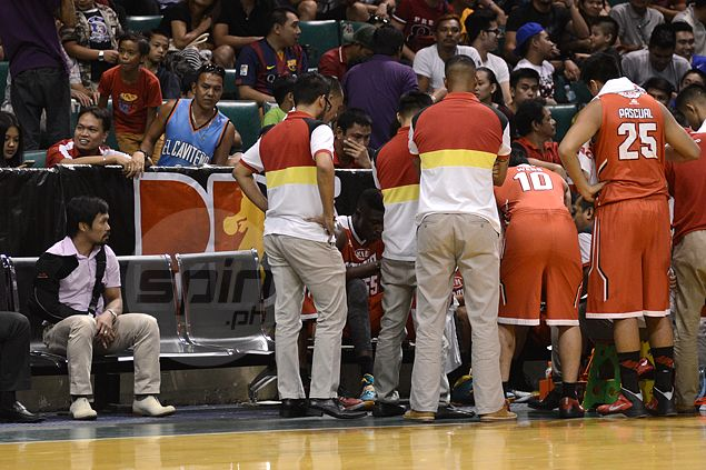 Coach Pacquiao nowhere to be seen in KIA games, practices. Officials explain