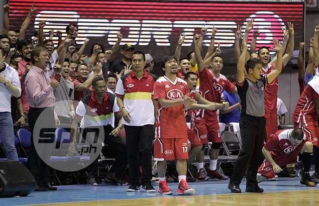 Manny Pacquiao plans to call shots for KIA in game against Ginebra upon his arrival