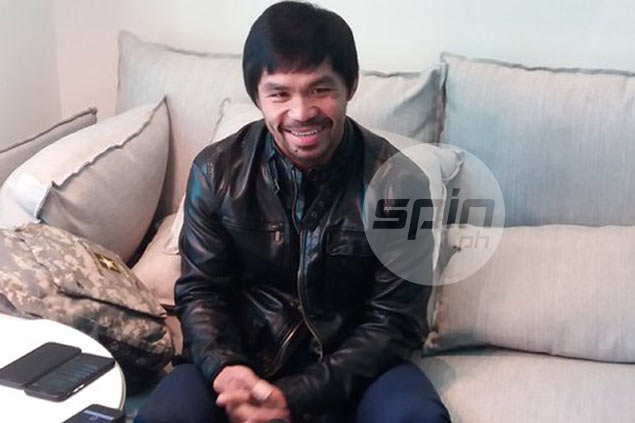 Manny Pacquiao in relaxed, nostalgic mood in first day as a 'retired boxer'