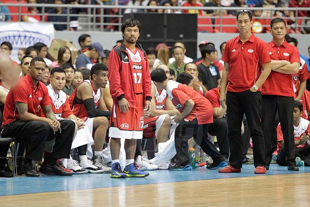 Is rule requiring rookie aspirants to play in D-League meant to weed out players like Pacquiao? PBA responds