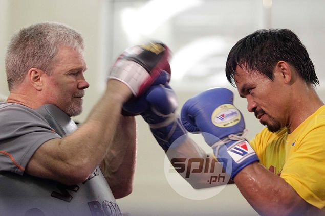 Manny Pacquiao hints door still very much open for big fight with Floyd Mayweather